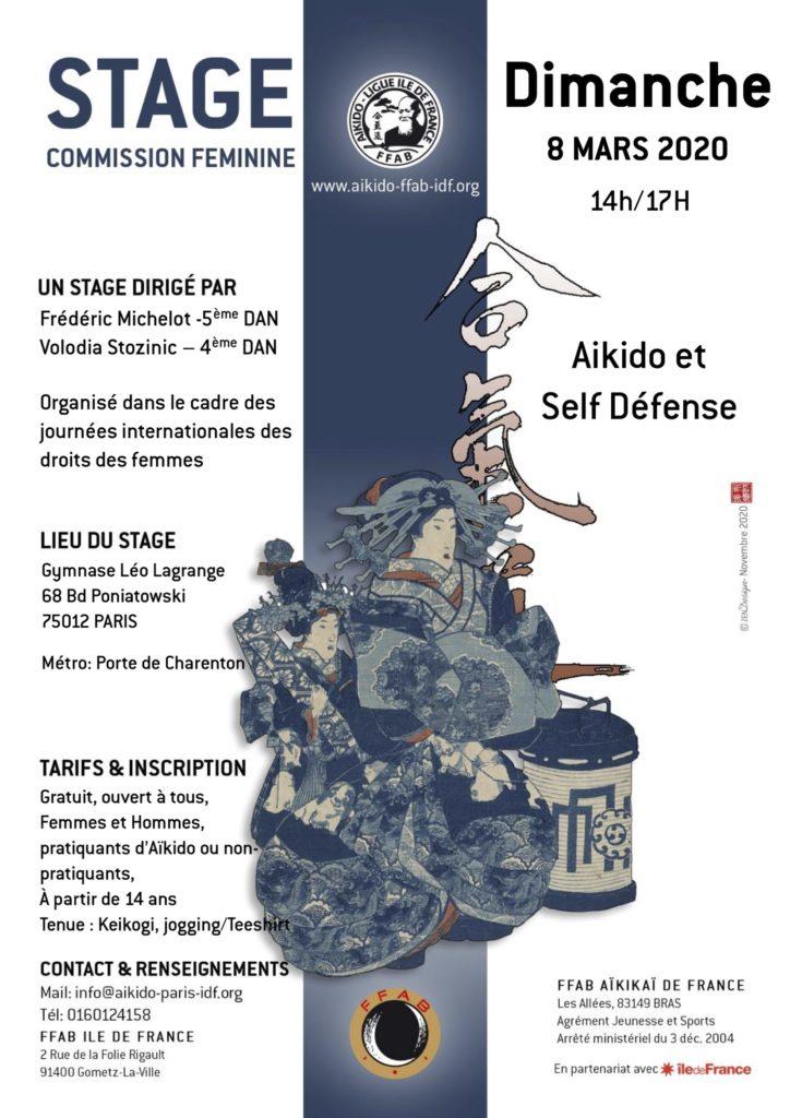 Affiche du stage